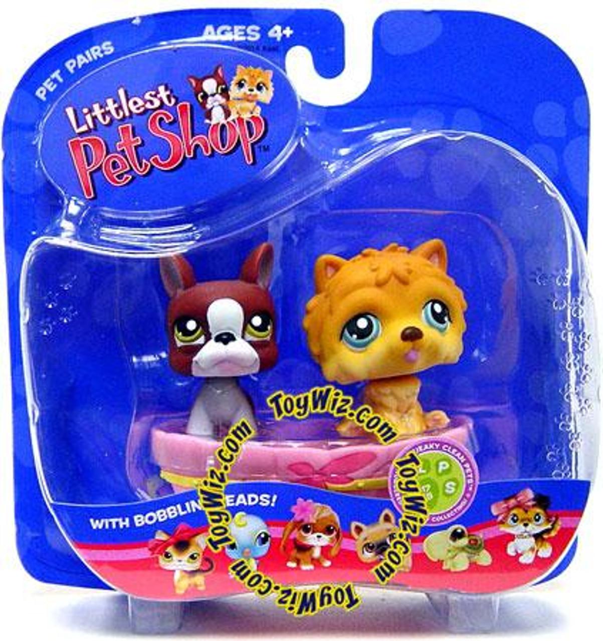 Littlest Pet Shop Pet Pairs Boxer & Chow-Chow Figure 2 Pack