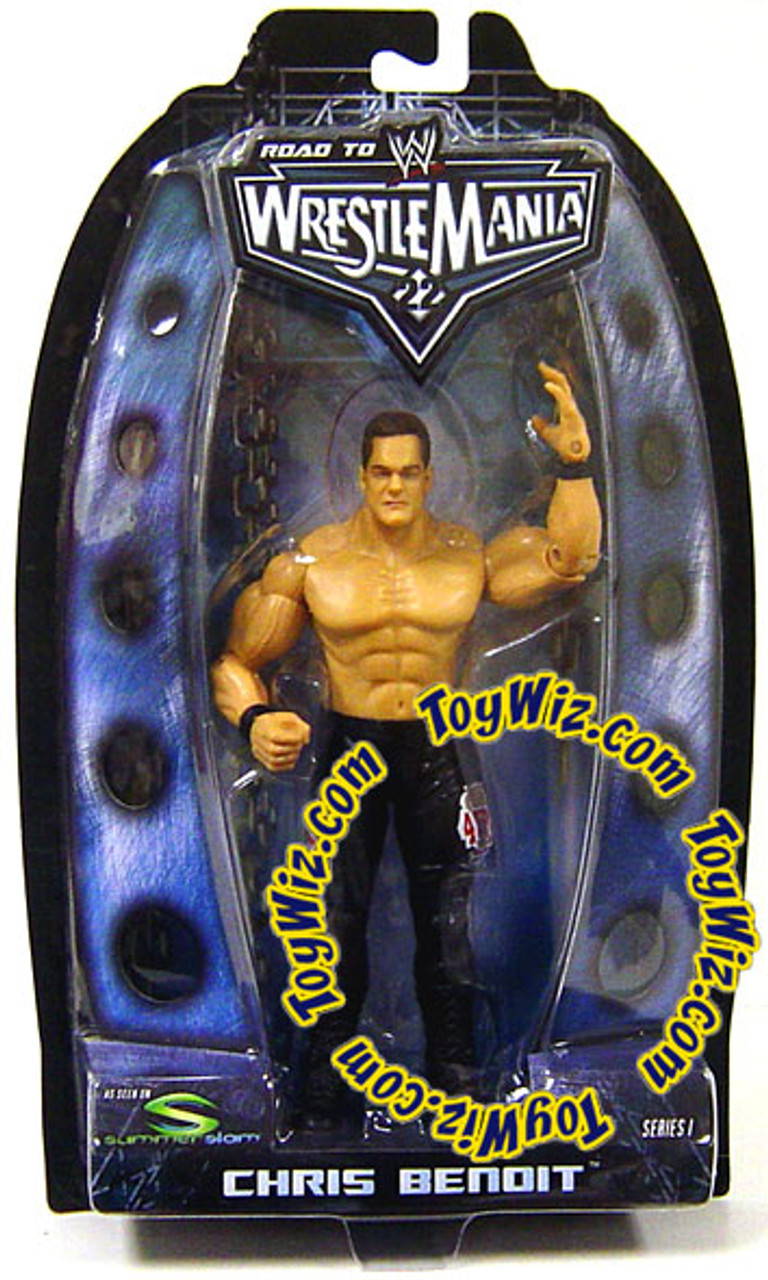 WWE Wrestling Road to WrestleMania 22 Series 1 Chris Benoit Action Figure