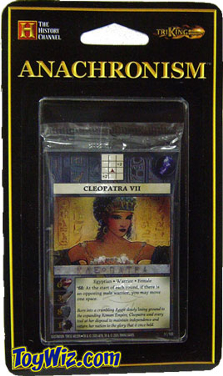 Anachronism Egyptian Cleopatra VII Warrior Pack