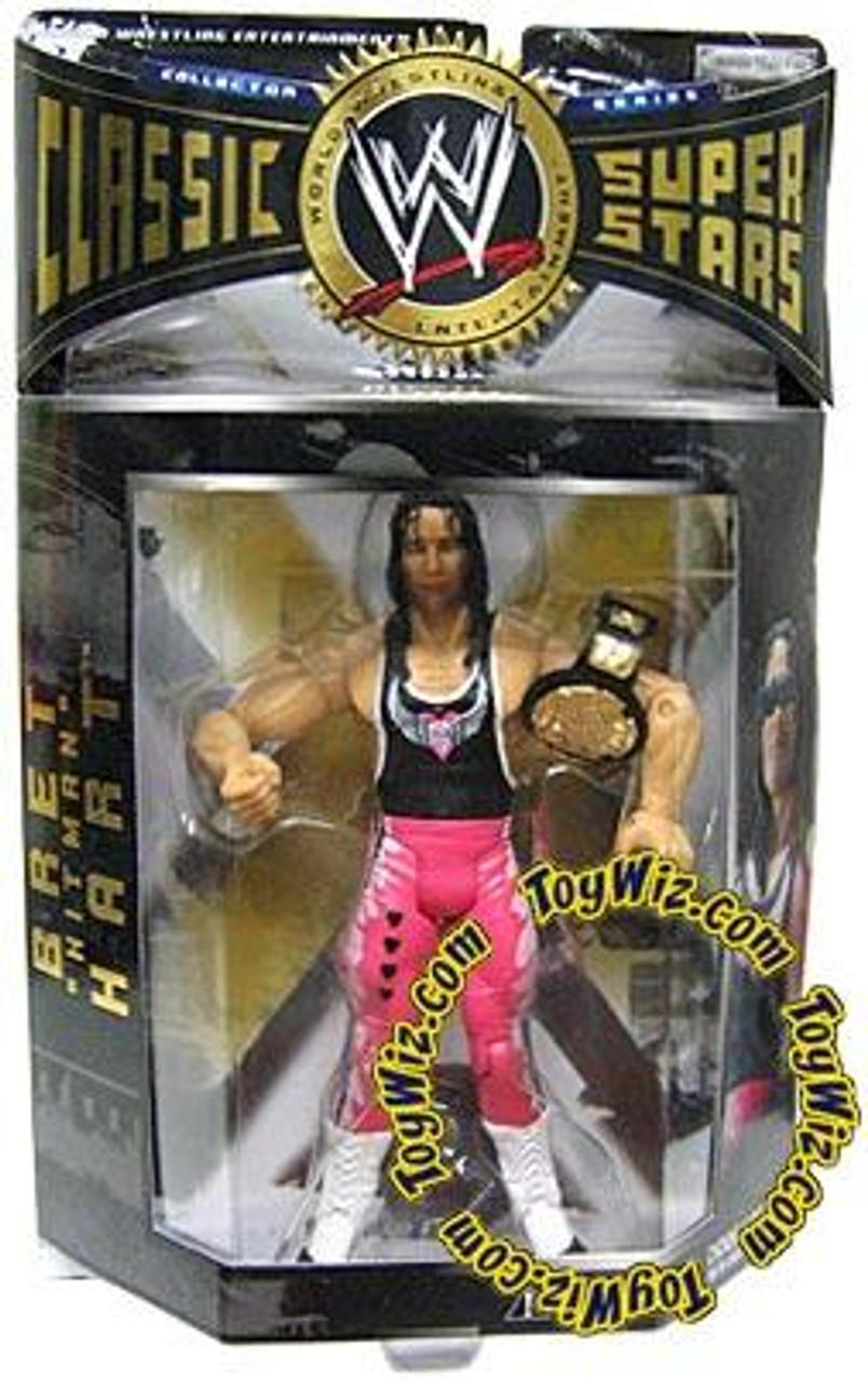 WWE Wrestling Classic Superstars Series 1 Bret Hart Action Figure