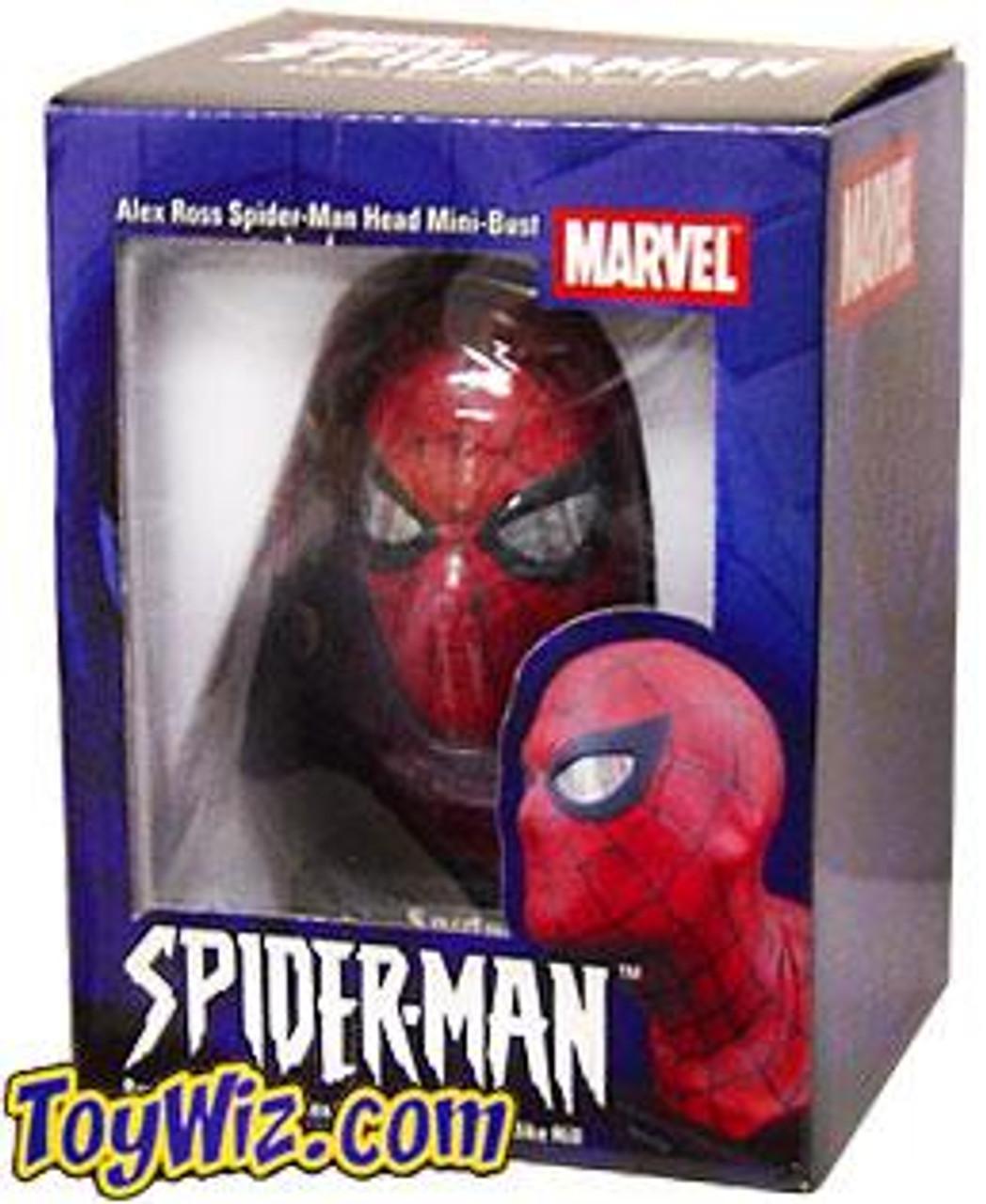 Alex Ross Spider-Man Mini Bust