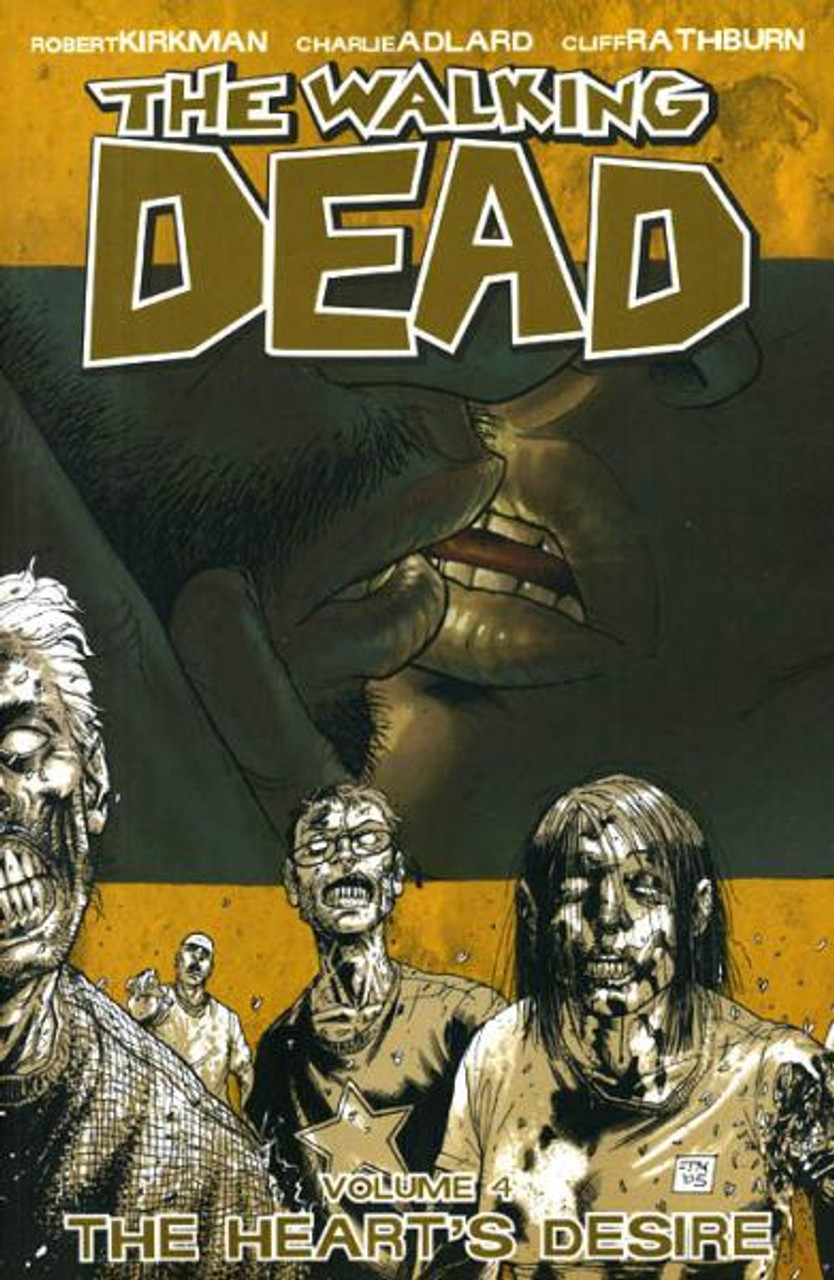Image Comics The Walking Dead Vol 4 Trade Paperback #4 [The Heart's Desire]