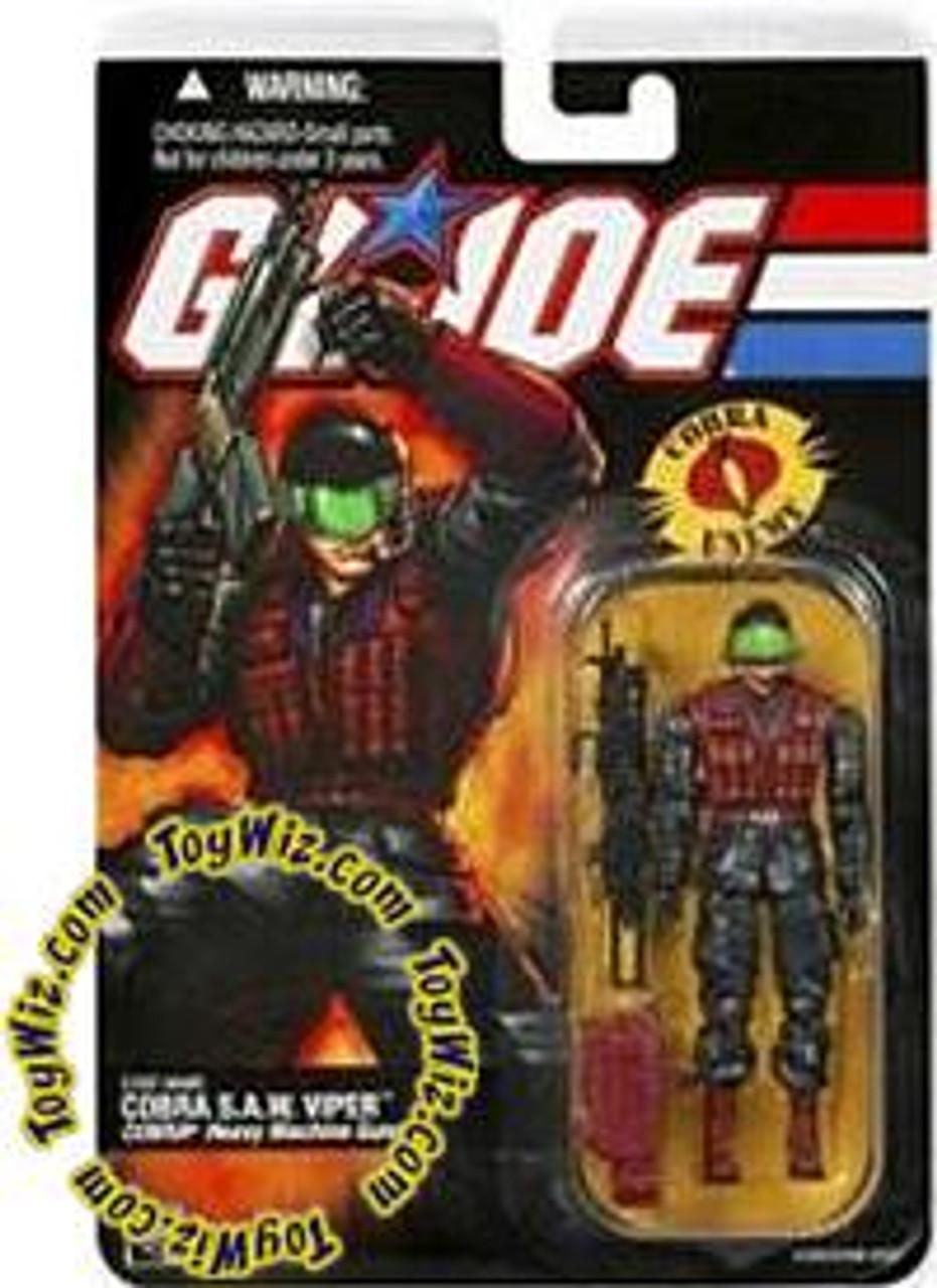 GI Joe Series 3 Cobra S.A.W. Viper Action Figure