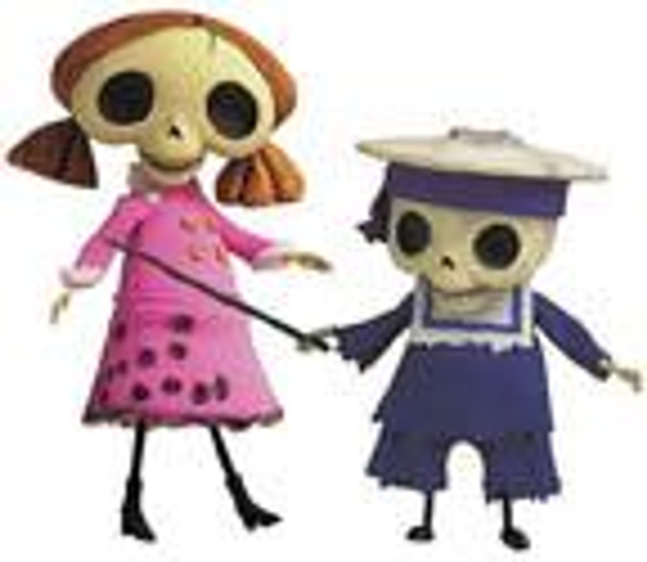 Corpse Bride Skeleton Kids 6-Inch Doll Set