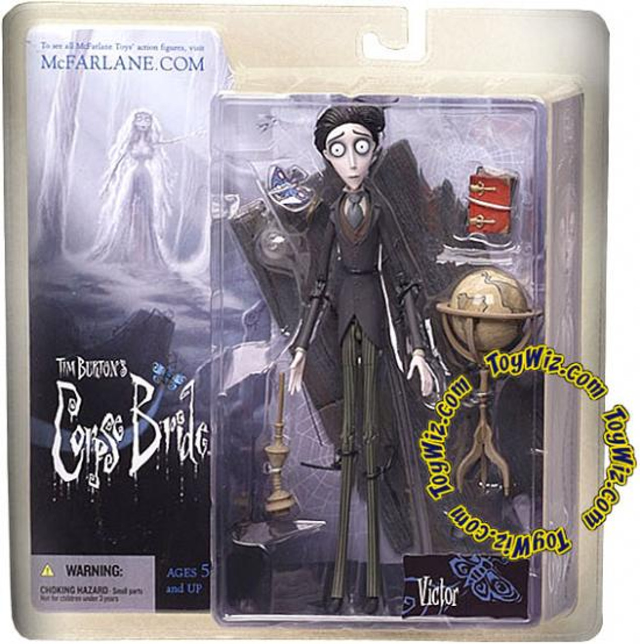 McFarlane Toys Corpse Bride Victor Action Figure [Damaged Package]