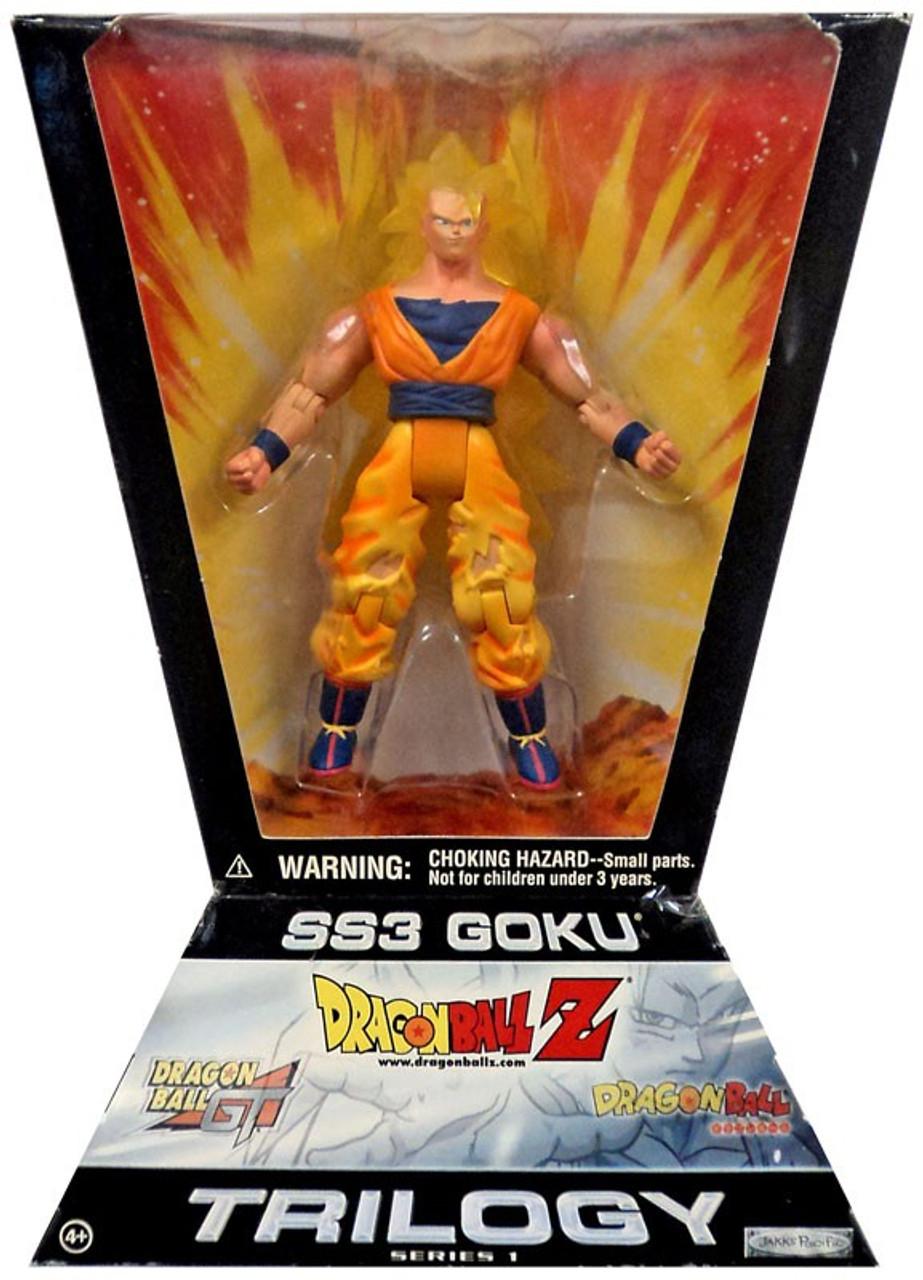Dragon Ball Z Trilogy Series 1 SS3 Goku Action Figure