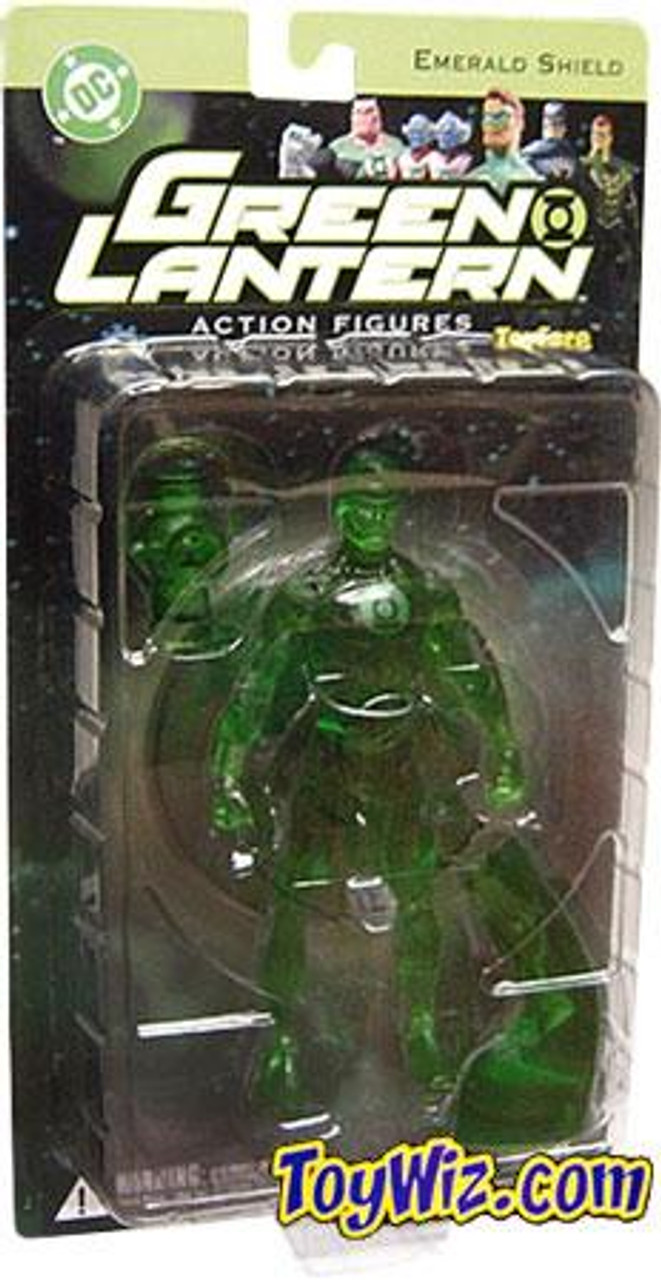 DC Green Lantern Series 1 Emerald Shield Hal Jordan Exclusive Action Figure