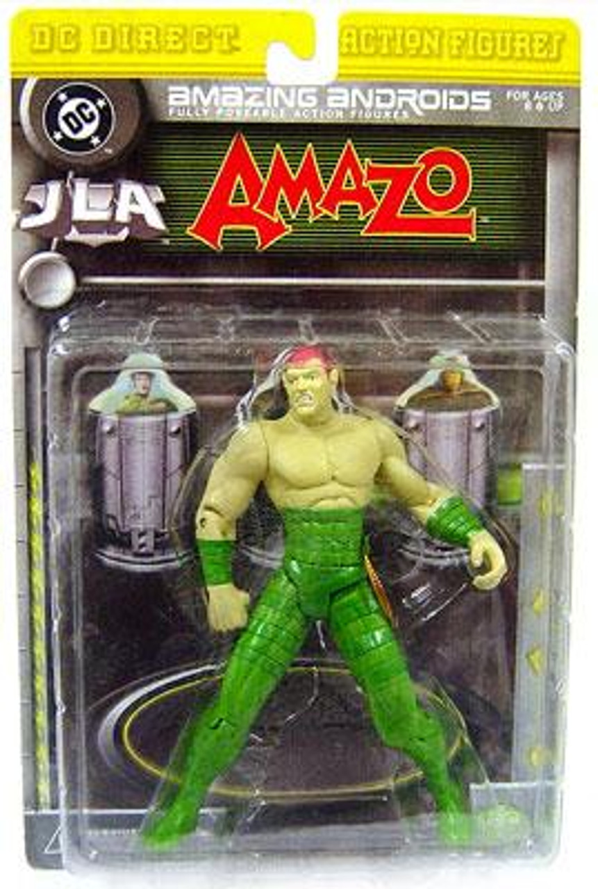 DC JLA Amazing Andriods Amazo Action Figure