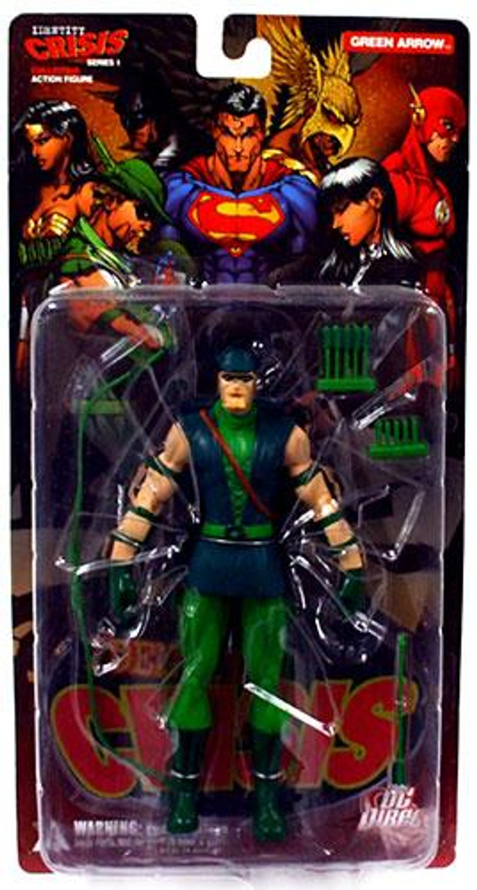DC Identity Crisis Series 1 Green Arrow Action Figure