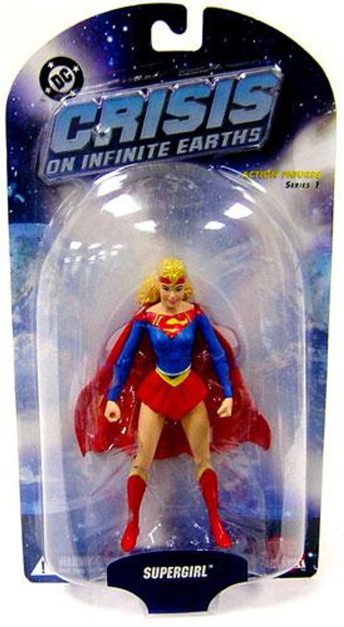 DC Crisis on Infinite Earths Series 1 Supergirl Action Figure