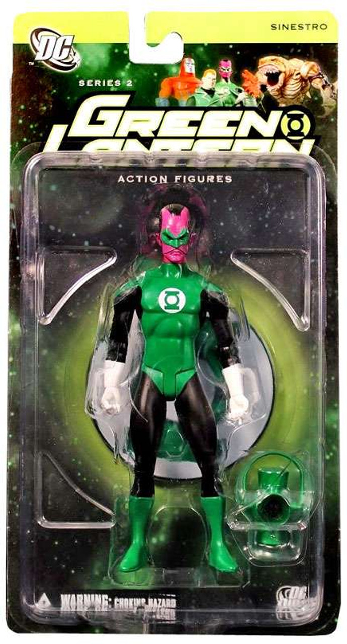 DC Green Lantern Series 2 Sinestro as Green Lantern Action Figure