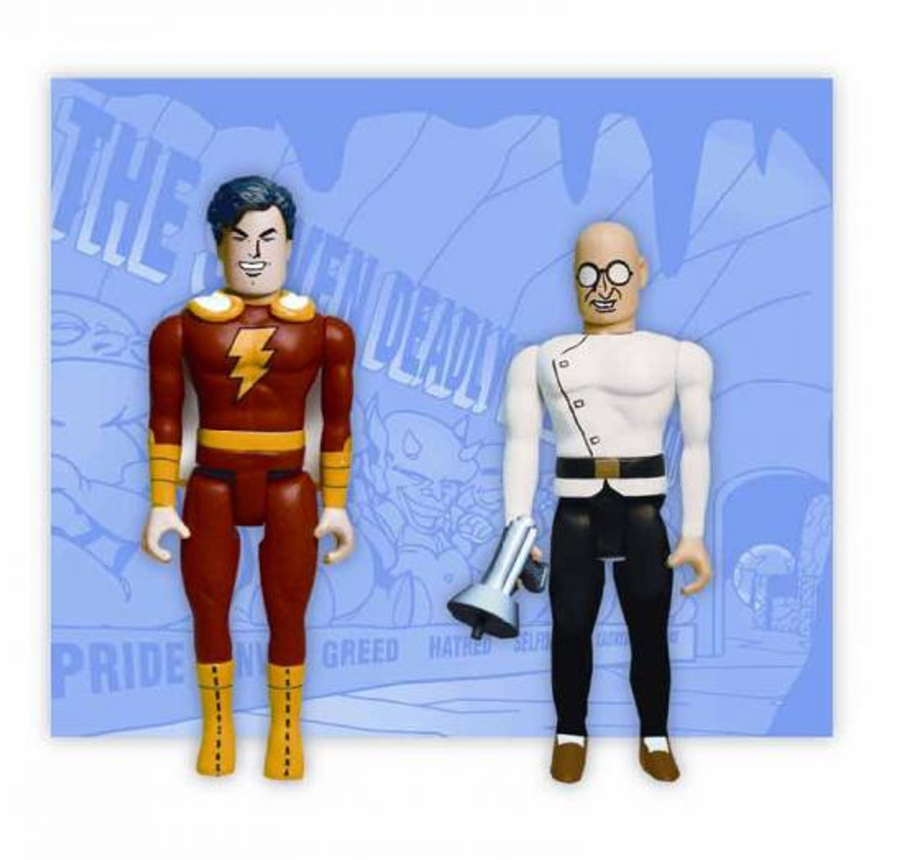 DC Pocket Super Heroes Captain Marvel & Dr. Sivana Action Figure 2-Pack