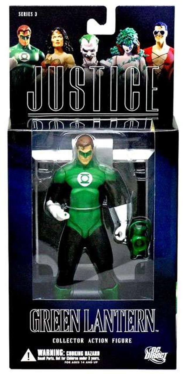 DC Alex Ross Justice League Series 3 Green Lantern Action Figure