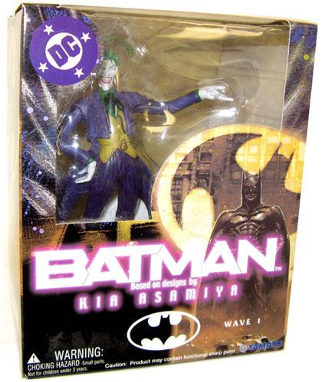 Batman Kia Asylum Series 1 The Joker Action Figure