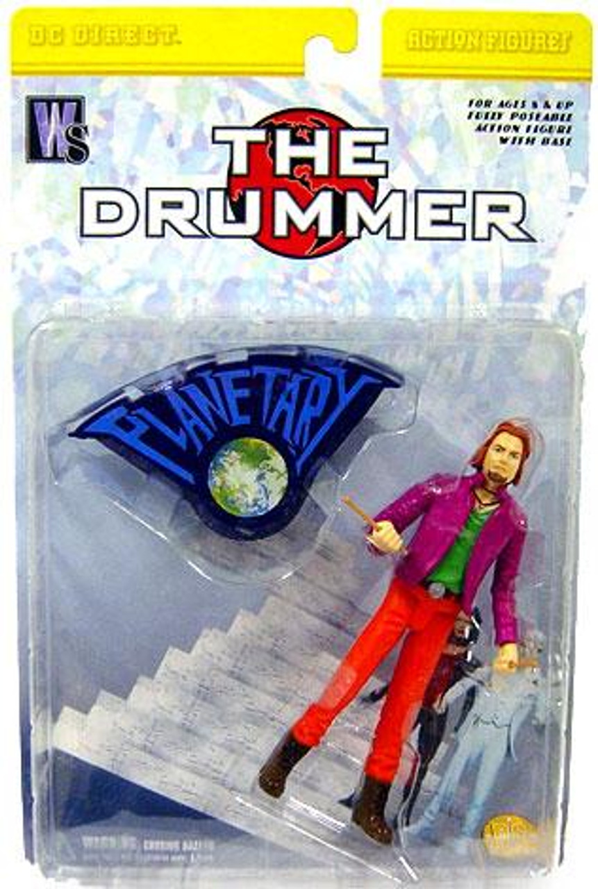DC Planetary The Drummer Action Figure