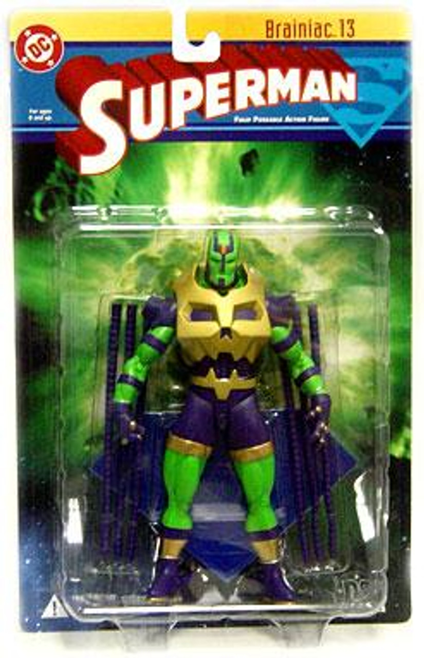 DC Superman Series 1 Brainiac 13 Action Figure
