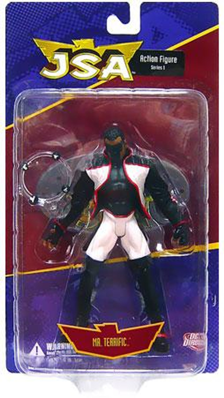 DC JSA Series 1 Mr. Terrific Action Figure