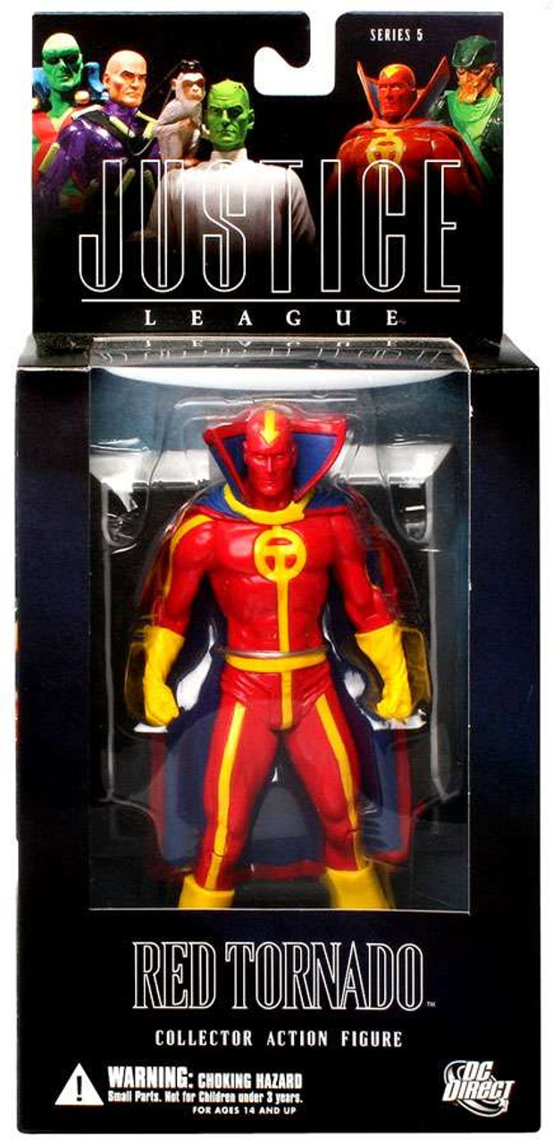 DC Alex Ross Justice League Series 5 Red Tornado Action Figure