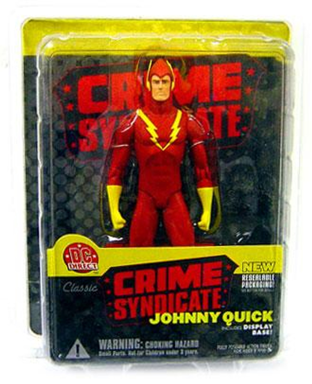 DC Crime Syndicate Johnny Quick Action Figure