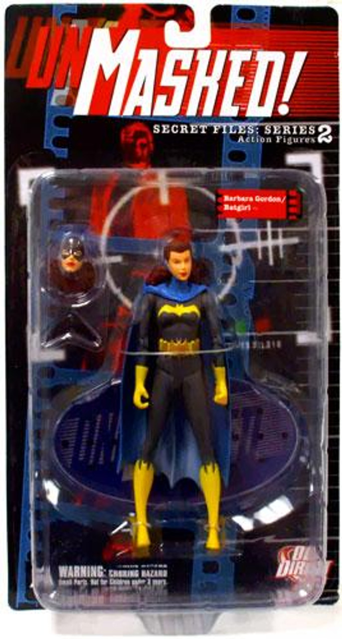DC Secret Files Series 2 Unmasked Barbara Gordon / Batgirl Action Figure