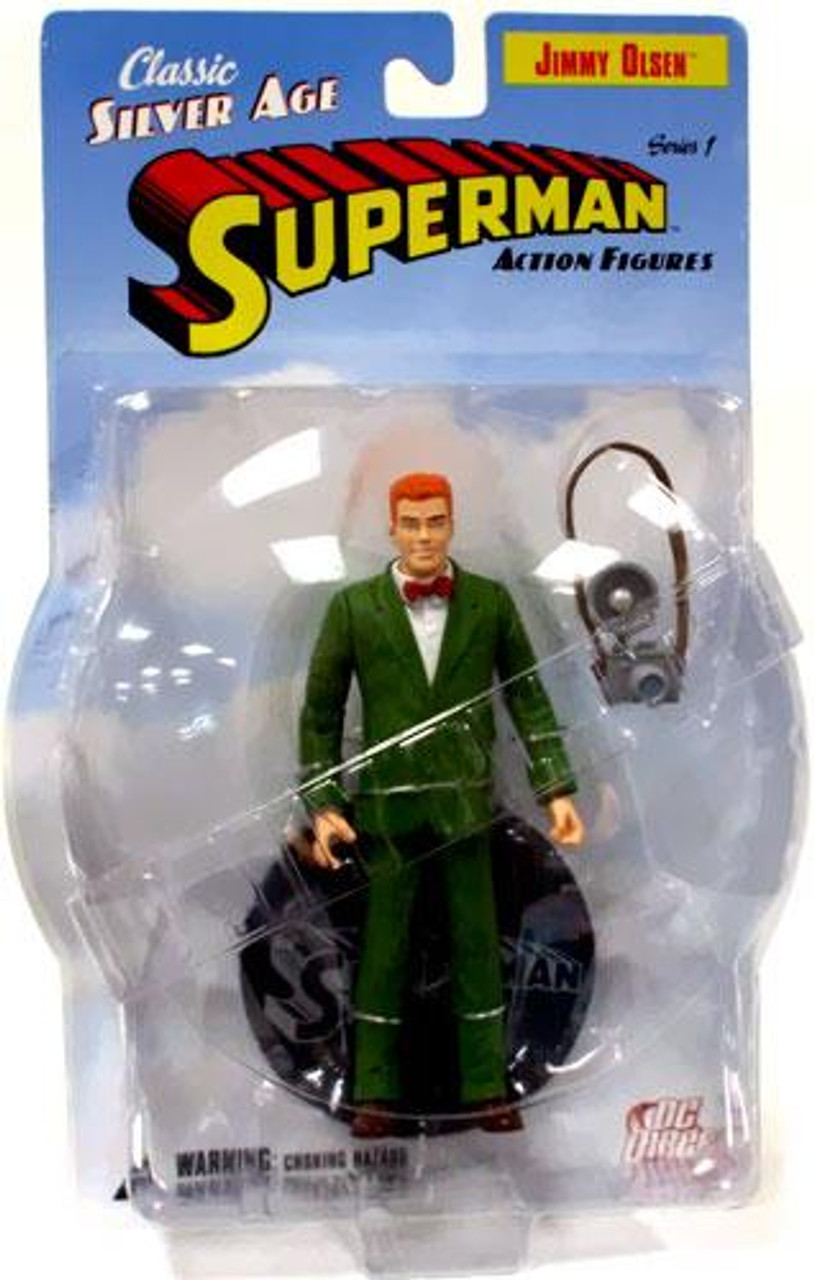 Superman Classic Silver Age Jimmy Olsen Action Figure