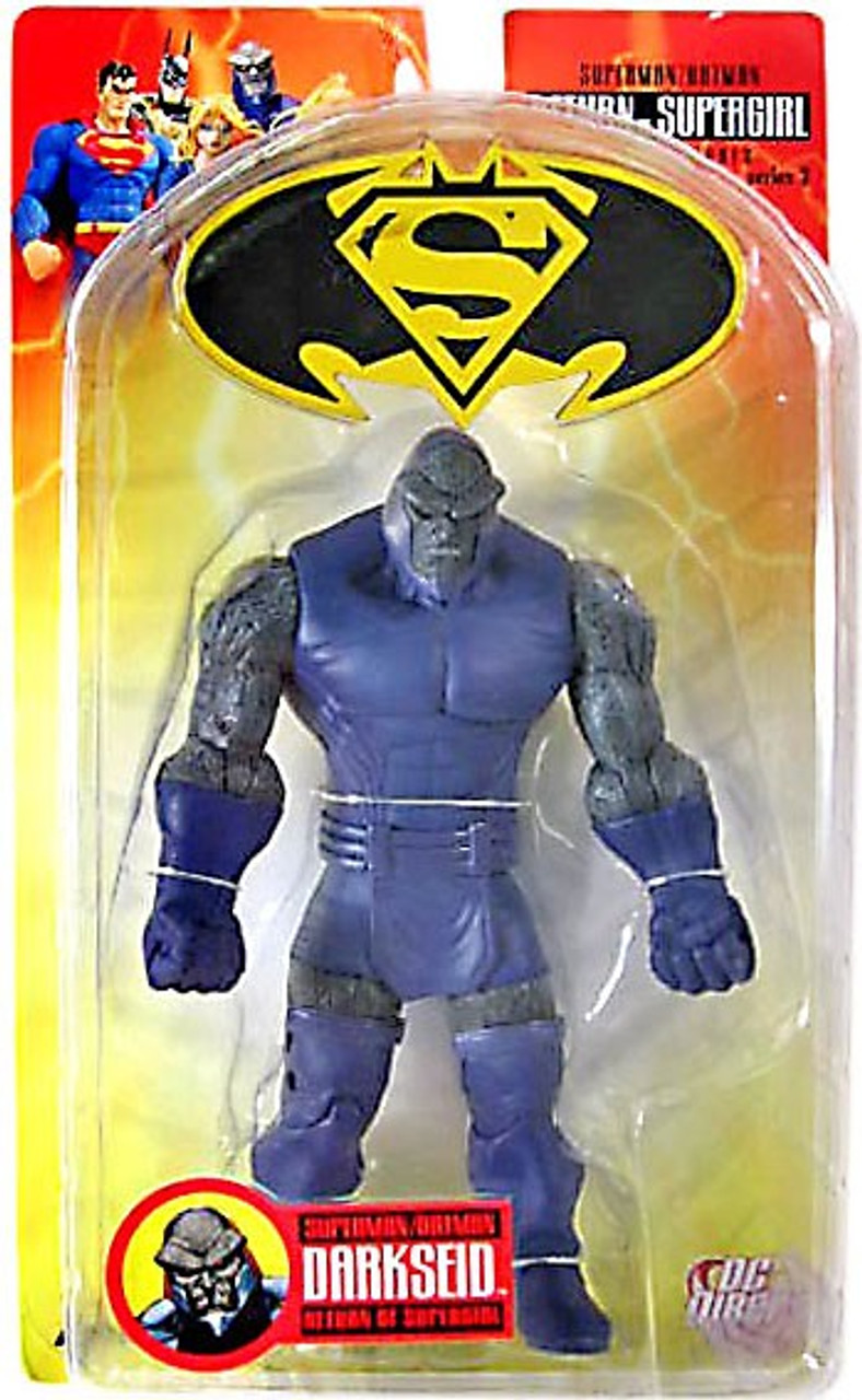 DC Superman Batman Series 2 Return of Supergirl Darkseid Action Figure