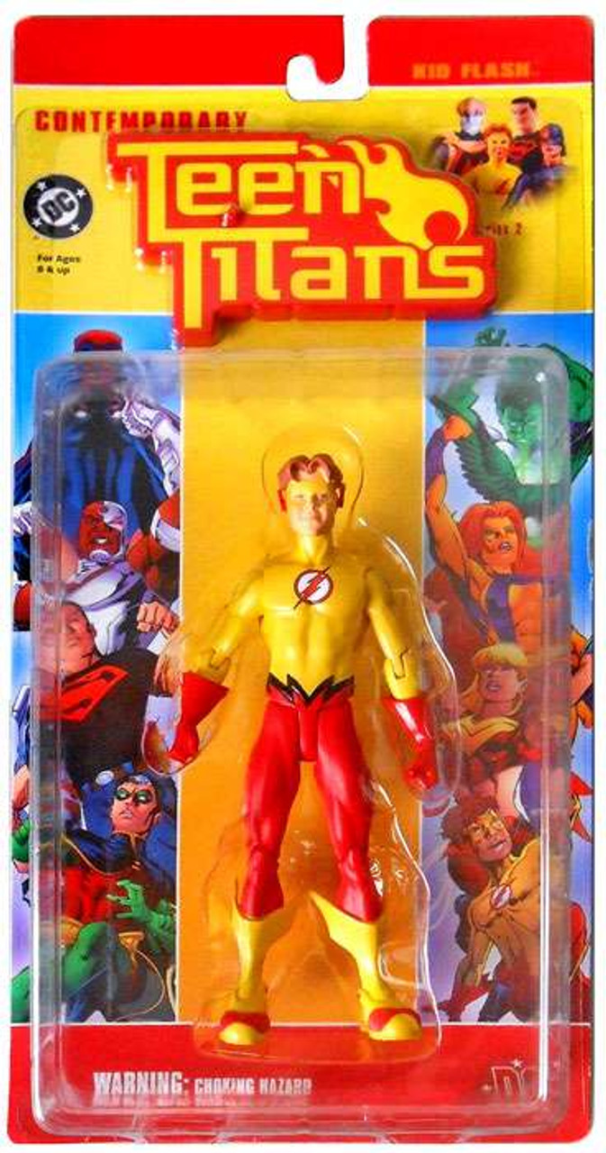 DC Contemporary Teen Titans Series 2 Kid Flash Action Figure