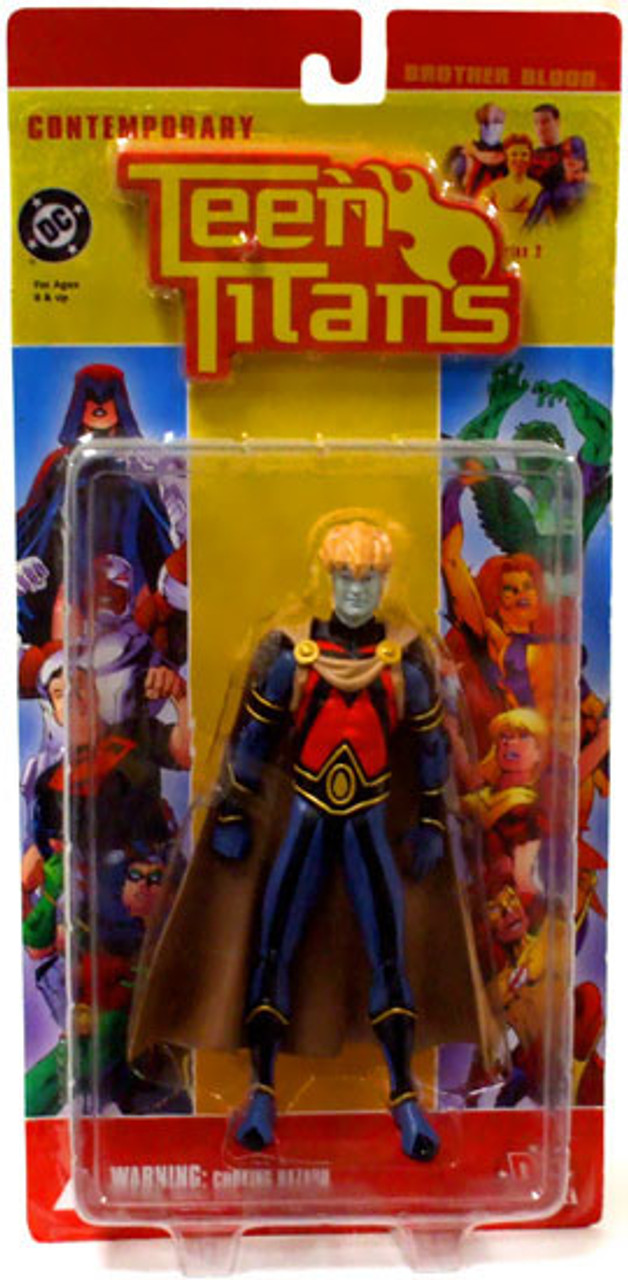 DC Contemporary Teen Titans Series 2 Brother Blood Action Figure