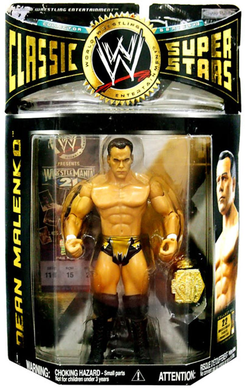 WWE Wrestling Classic Superstars Series 12 Dean Malenko Action Figure
