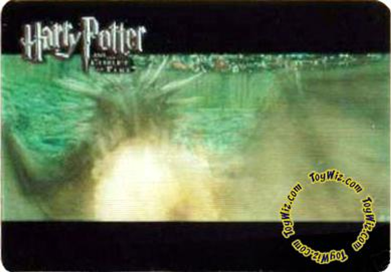 "Harry Potter The Goblet of Fire Case Topper Lenticular Motion Card ""Dragon"""