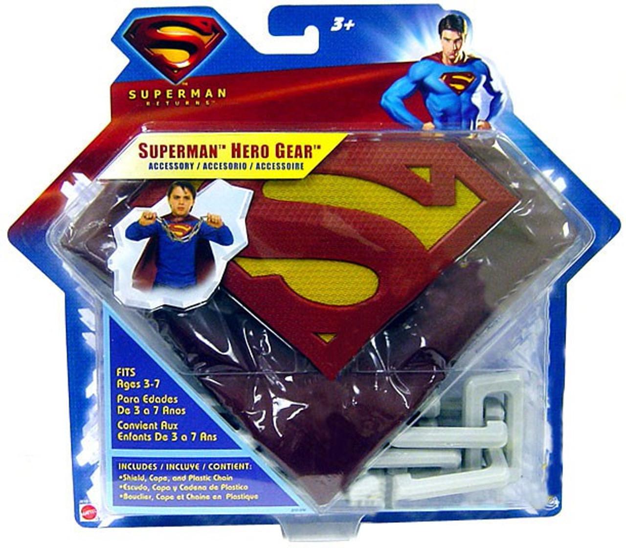 Superman Returns Superman Hero Gear Roleplay Toy