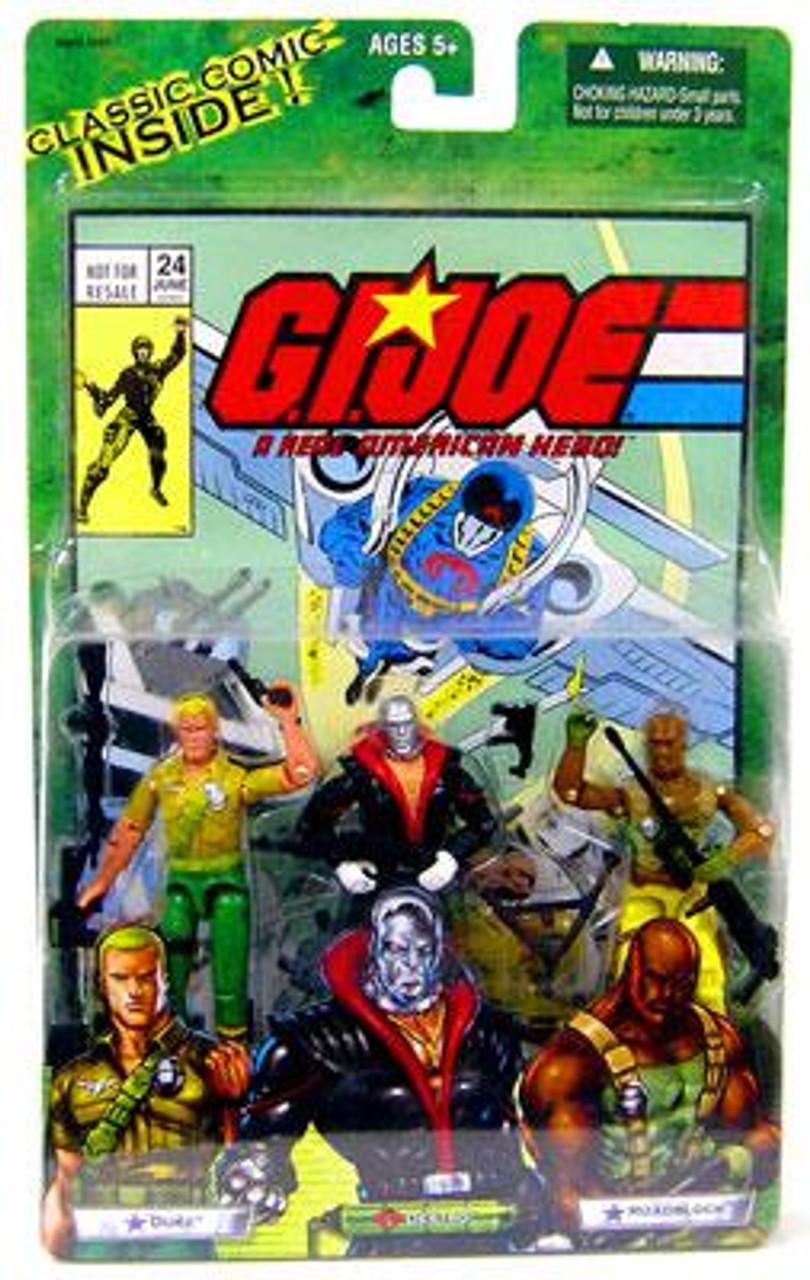 GI Joe Valor vs. Venom Duke, Destro & Roadblock Action Figure 2-Pack