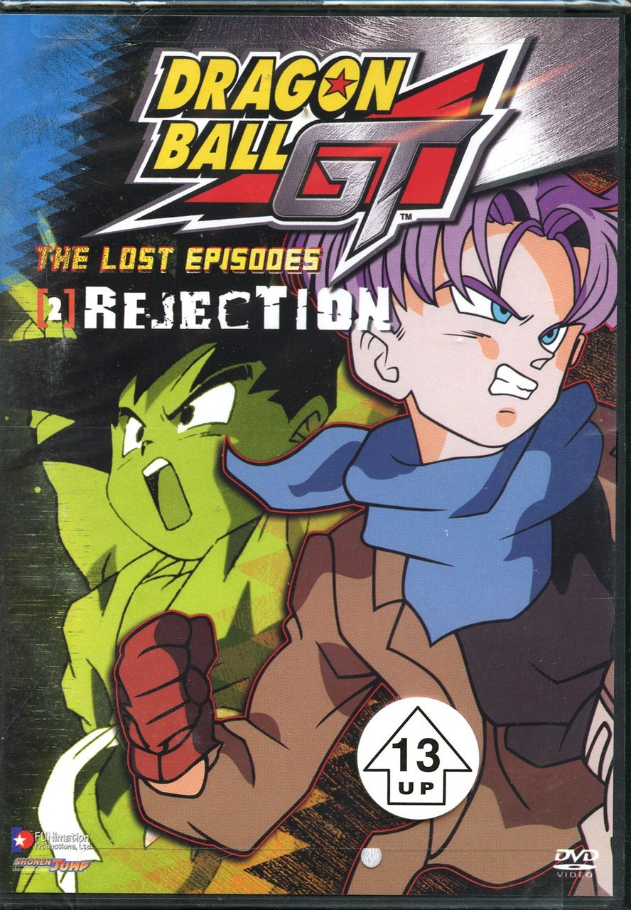 Dragon Ball GT The Lost Episodes - Rejection DVD #02 [Uncut]