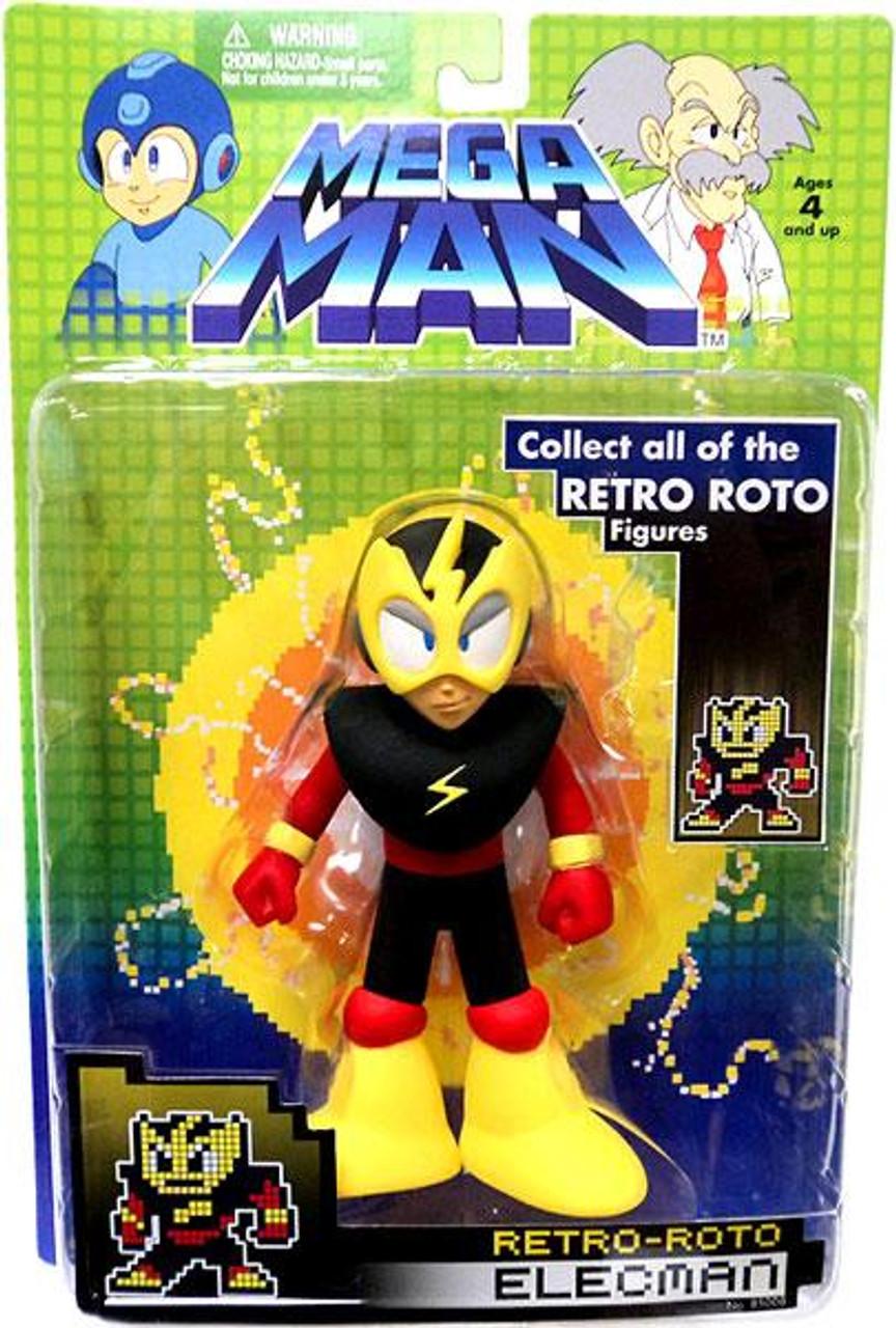 Mega Man Series 1 Retro Roto Elecman Action Figure