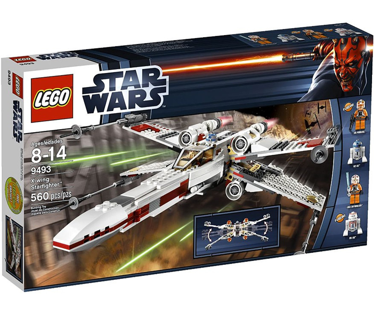 Lego Star Wars X Wing Starfighter: LEGO Star Wars A New Hope X-Wing Starfighter Set 9493