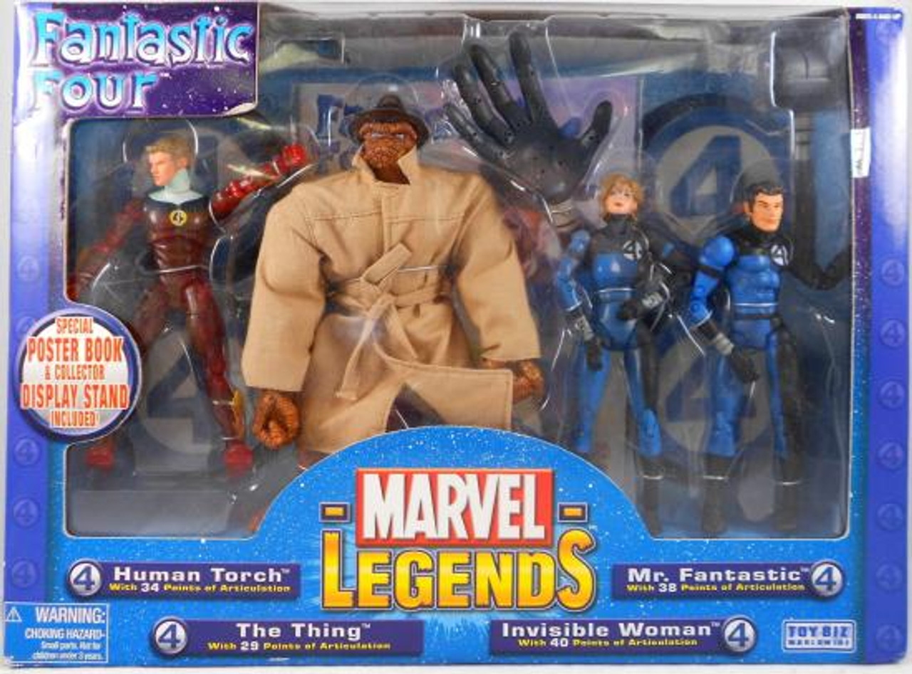 Marvel Legends Fantastic Four Exclusive Action Figure 4-Pack