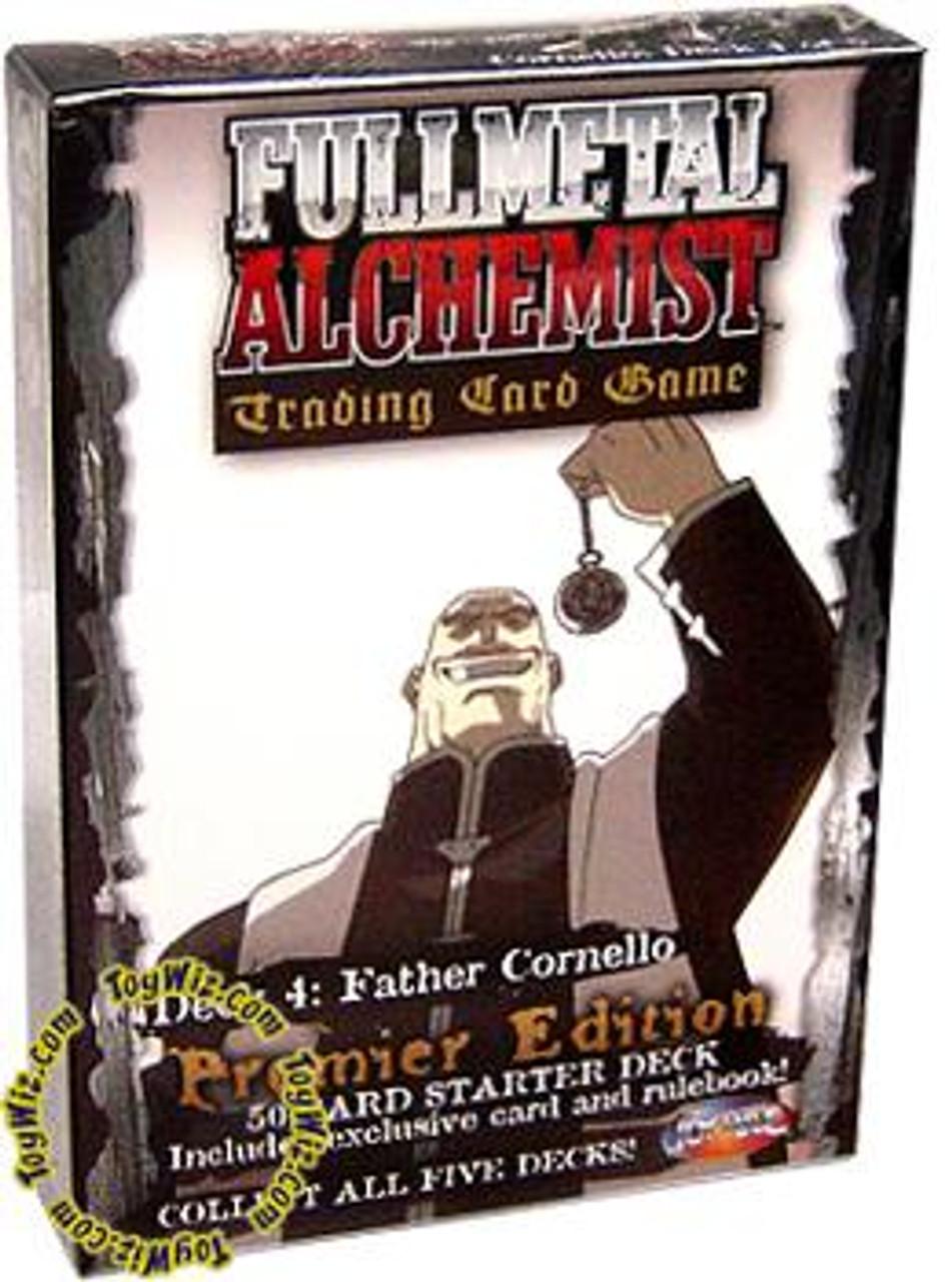 Fullmetal Alchemist Trading Card Game Premier Edition Father Cornello Starter Deck #4