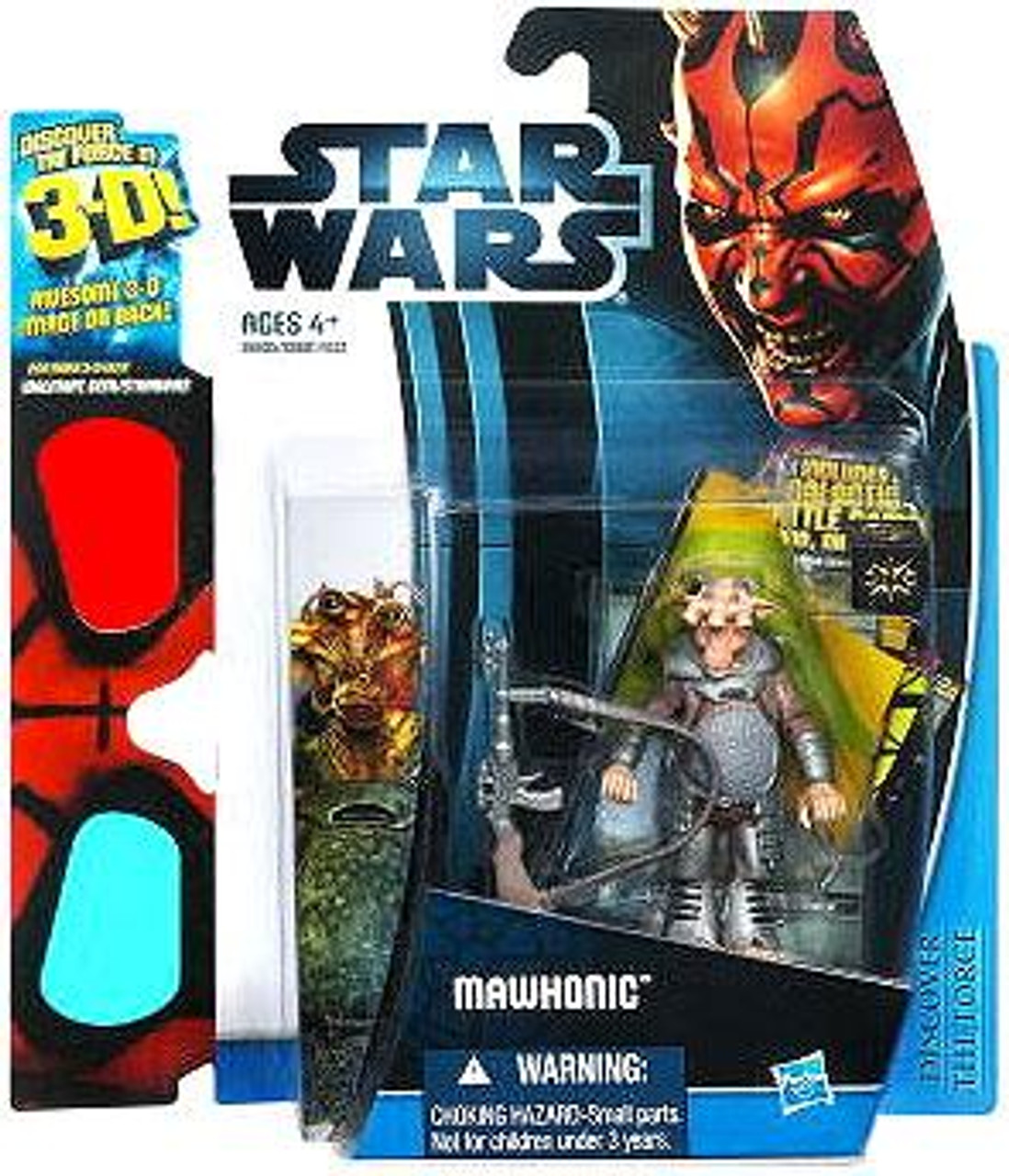Star Wars The Phantom Menace Discover the Force 2012 Mawhonic Exclusive Action Figure