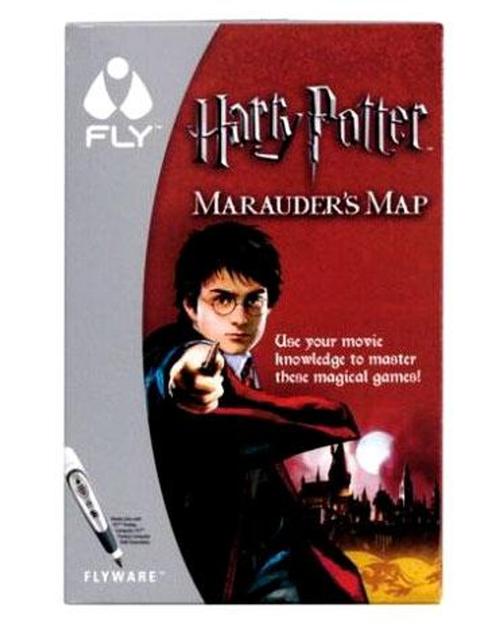 Harry Potter FLYware Marauder's Map Game Book
