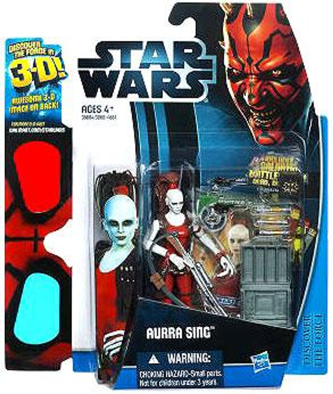 Star Wars The Phantom Menace Discover the Force 2012 Aurra Sing Exclusive Action Figure