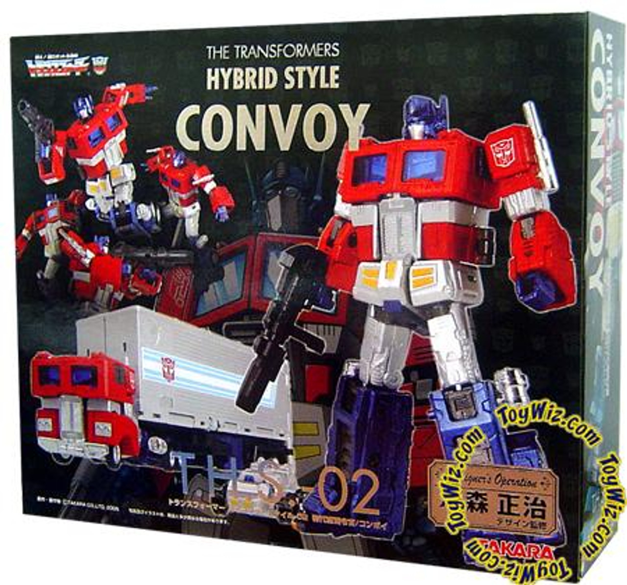 Transformers Japanese Masterpiece Hybrid Style Convoy Optimus Prime Action Figure THS-02