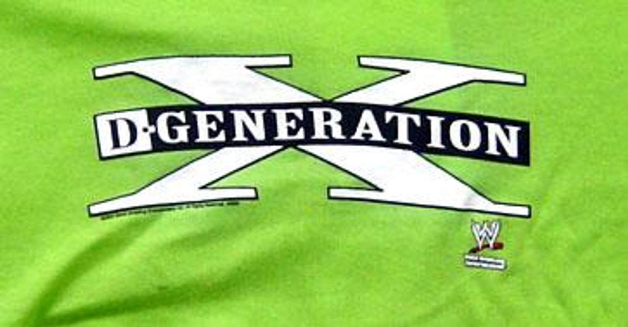 "WWE Wrestling ""Girlie Tee"" - D-Generation X T-Shirt [Youth S]"