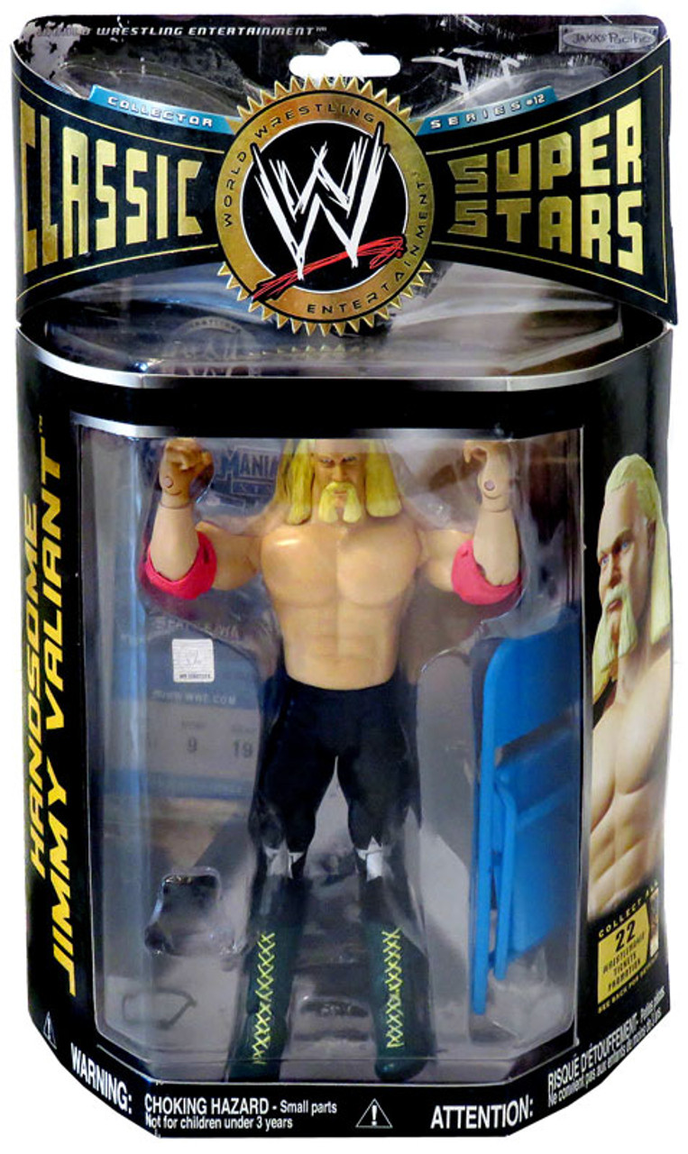 WWE Wrestling Classic Superstars Series 12 Handsome Jimmy Valiant Action Figure