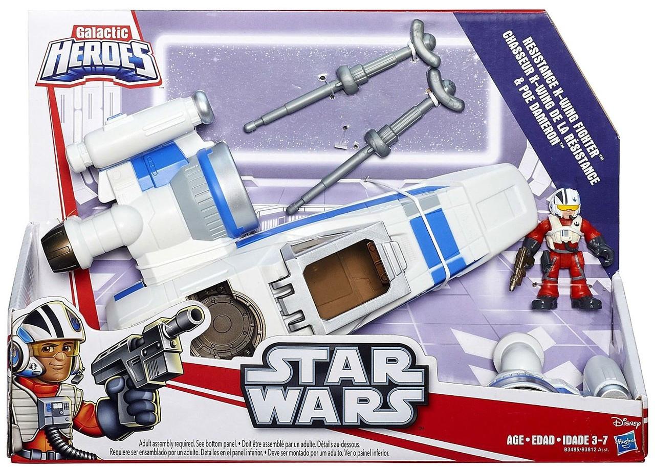 Star Wars Return of the Jedi Galactic Heroes Cinema Scenes Speeder Bike Chase Exclusive Mini Figure Set