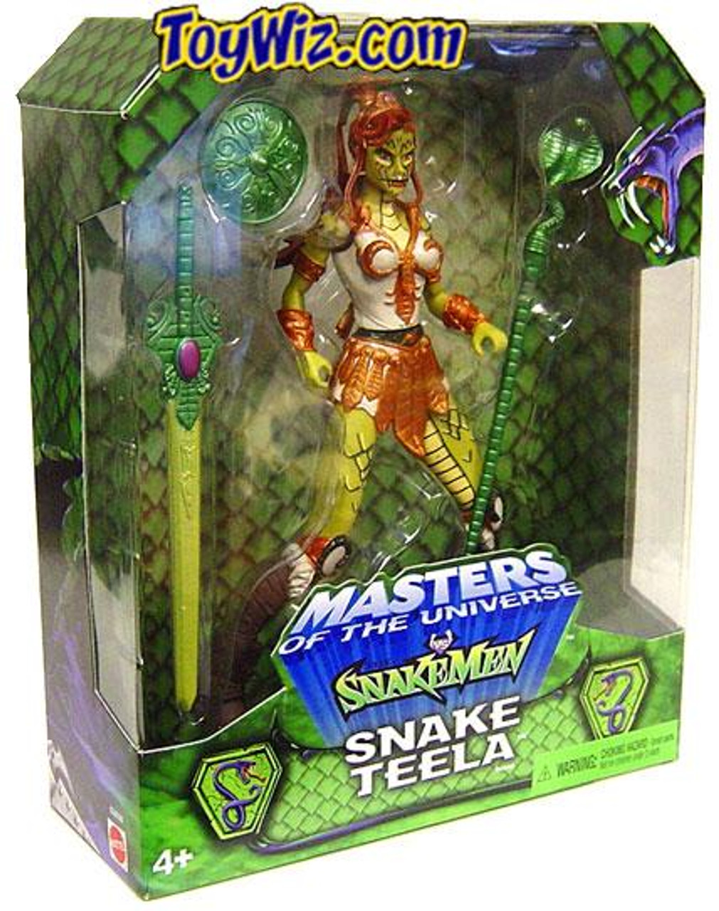 Masters of the Universe Snake Men Snake Teela Exclusive Action Figure