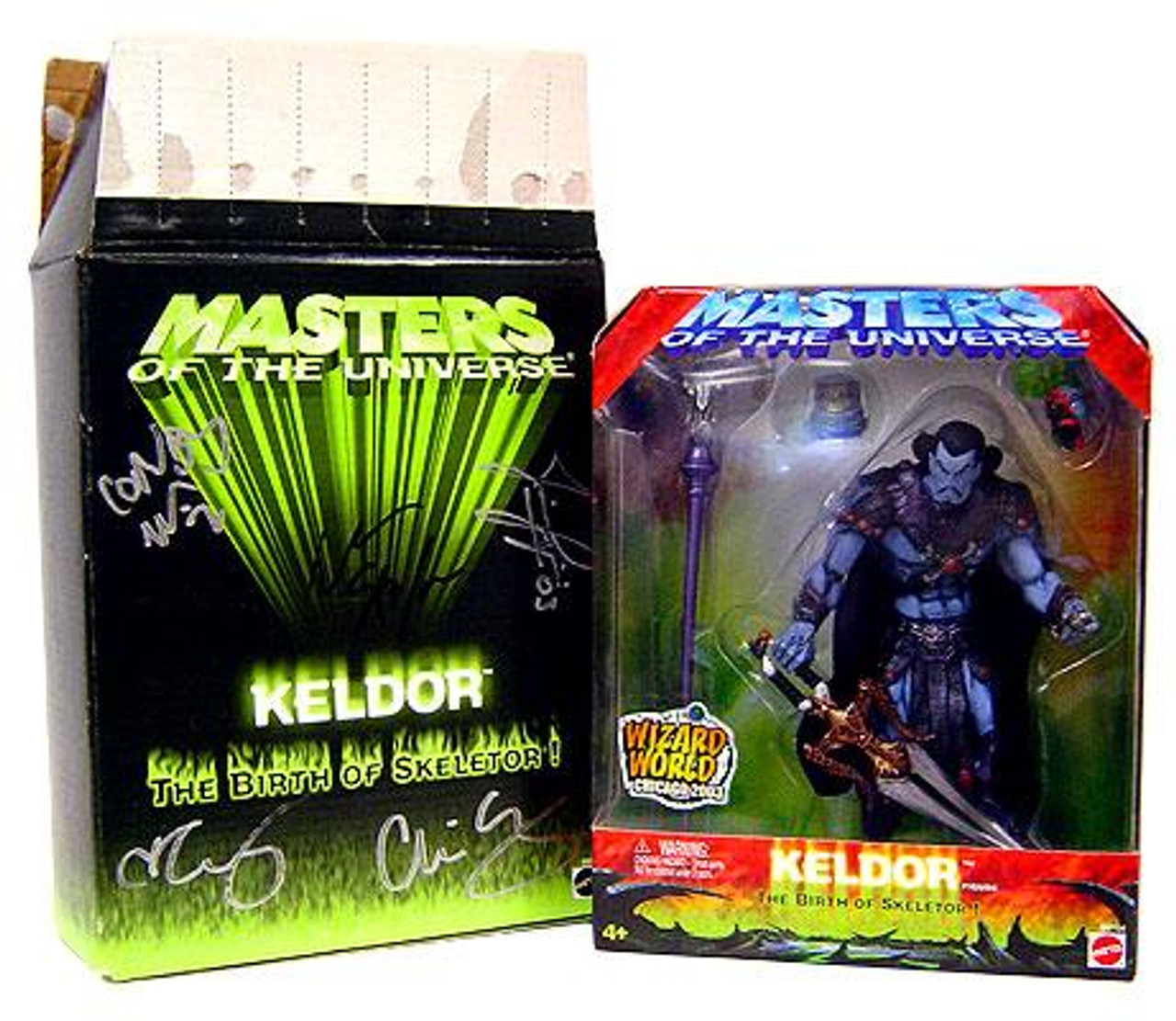 Masters of the Universe Keldor Exclusive Action Figure [Signed by the Four Horseman]