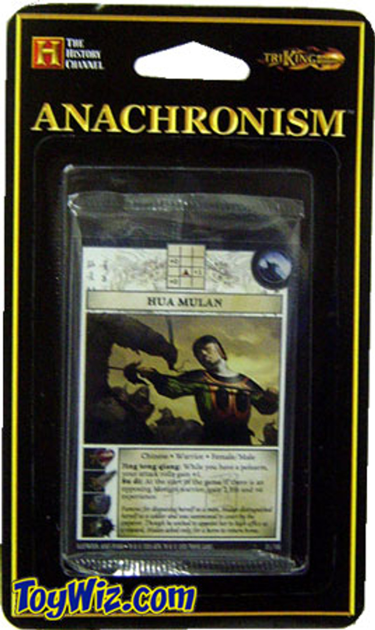 Anachronism Chinese Hua Mulan Warrior Pack