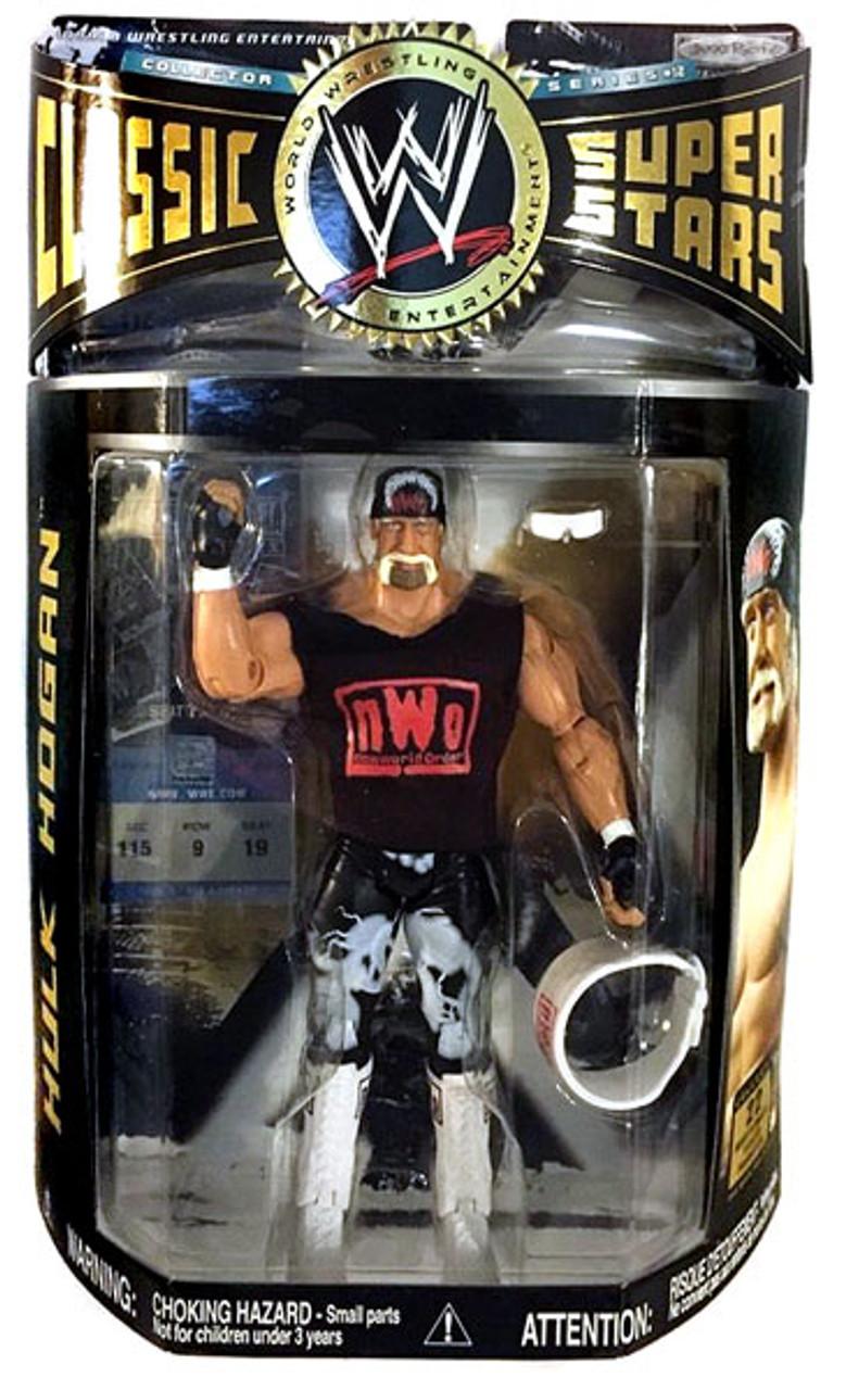WWE Wrestling Classic Superstars Series 12 Hulk Hogan Action Figure [NWO Shirt]