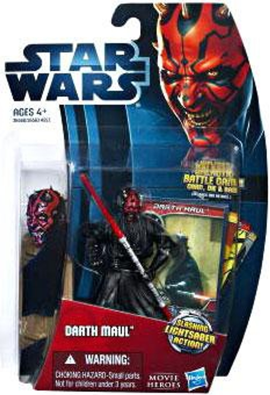 Star Wars The Phantom Menace Movie Heroes 2012 Darth Maul Action Figure #15 [Version 2]