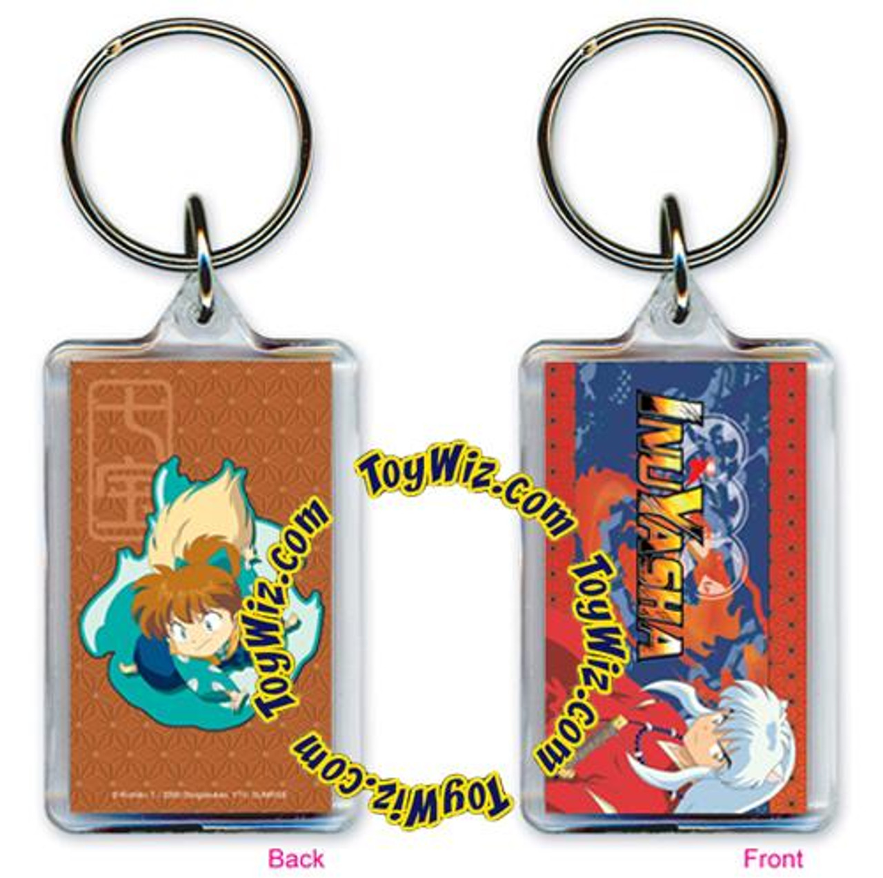 InuYasha Accessories Lucite Shippo Lucite Keychain